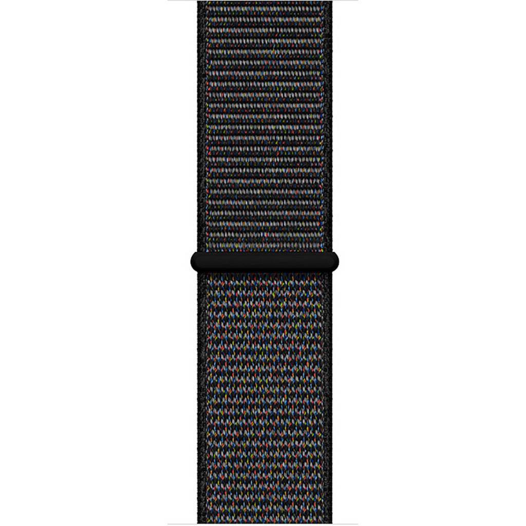 Apple Watch geweven sportbandje 40 mm, Zwart