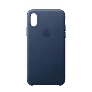iPhone XS leren backcover
