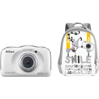 Coolpix W100 Backpack kit compact camera