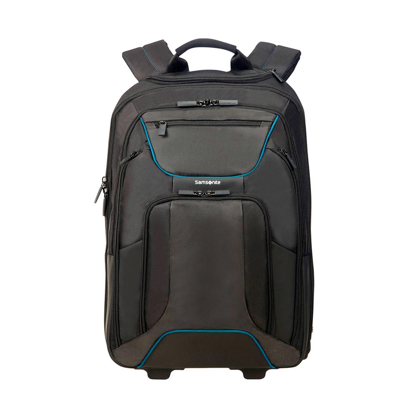 aff70ec2792 Samsonite laptop rugzak 17,3 inch laptoptas trolley | wehkamp