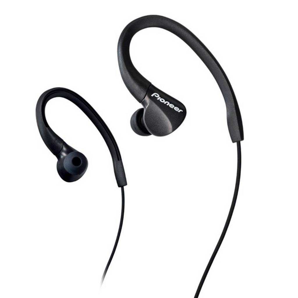 Pioneer in-ear sport koptelefoon SE-E3 Zwart