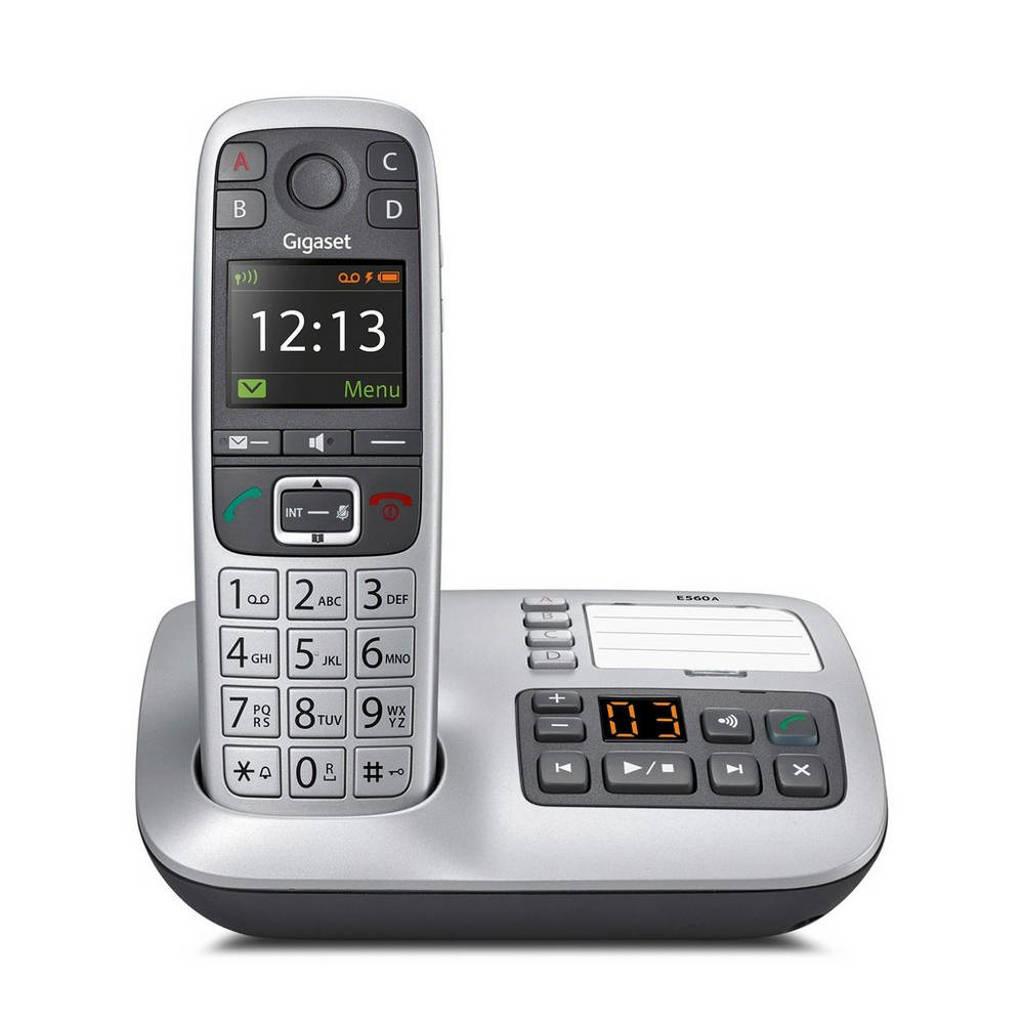 Gigaset E560A huistelefoon, Zilver