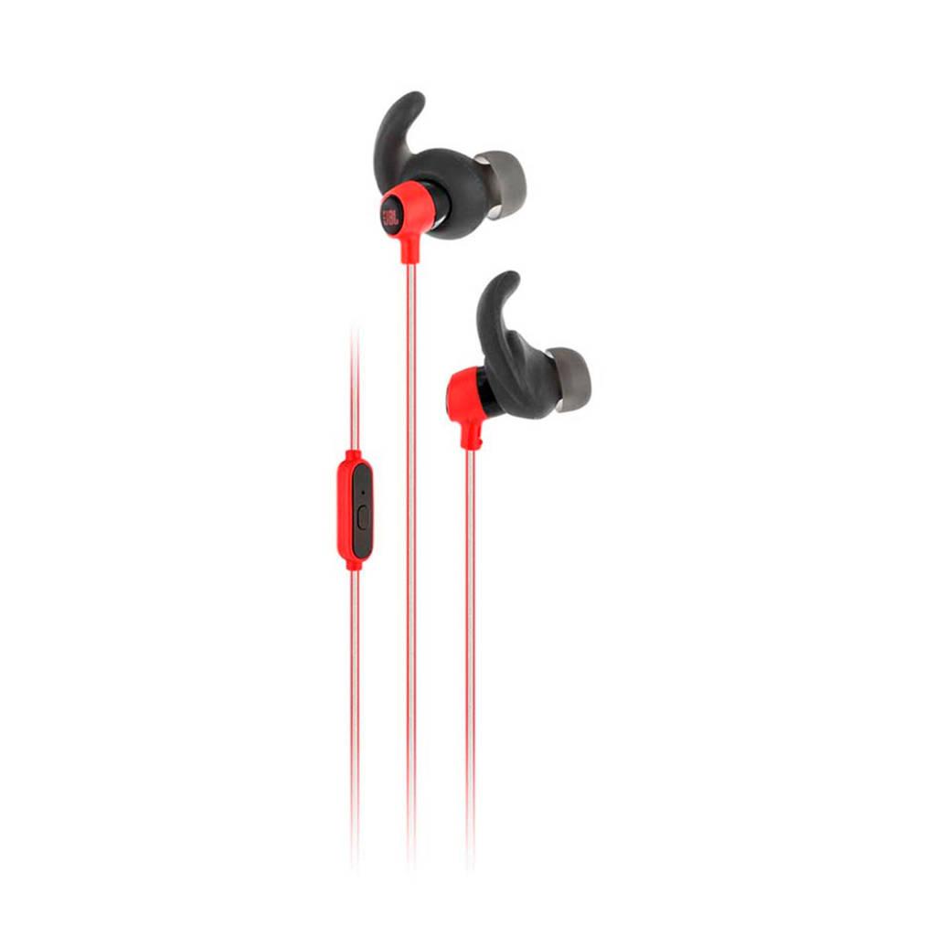 JBL Reflect Mini sport in-ear koptelefoon rood, Rood