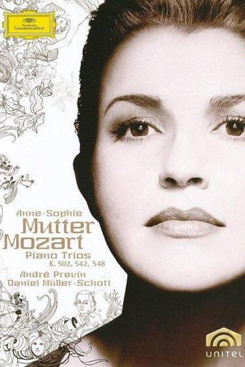 Anne-Sophie Mutter - Mozart piano trios (DVD)