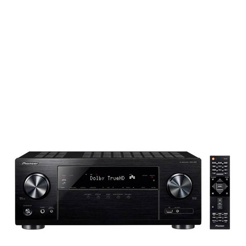 Pioneer VSX-832 receiver, Zwart