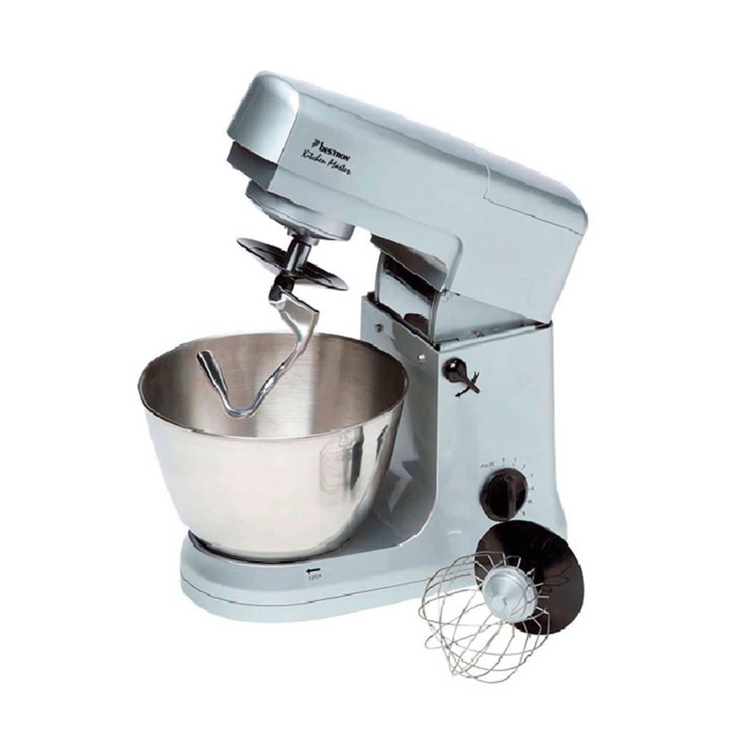 Bestron DHA3470 keukenmachine, Zilver
