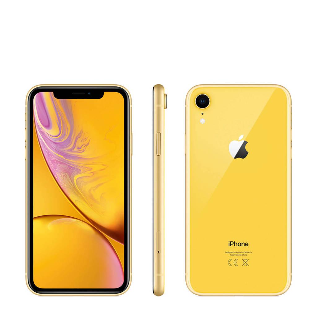 Apple iPhone Xr 128GB, Geel