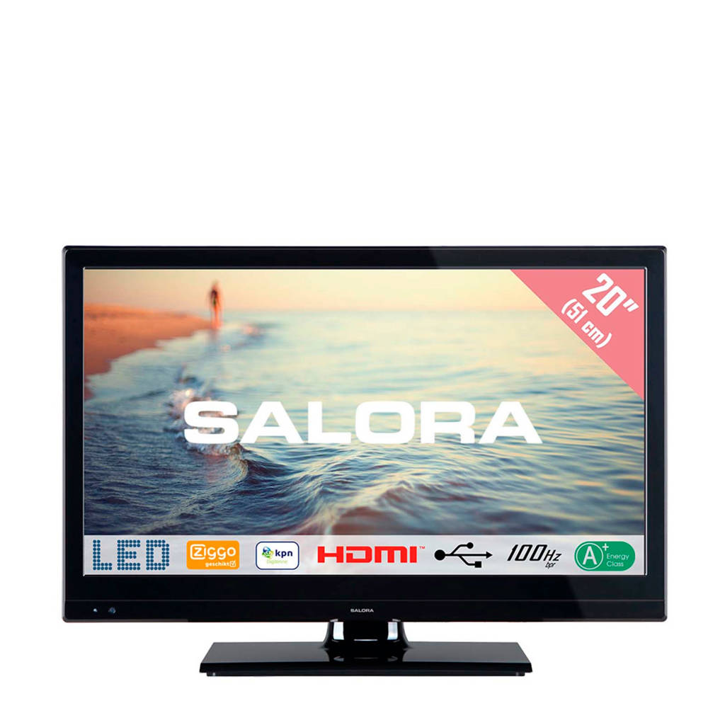 Salora 20HLB5000 HD Ready LED tv, -