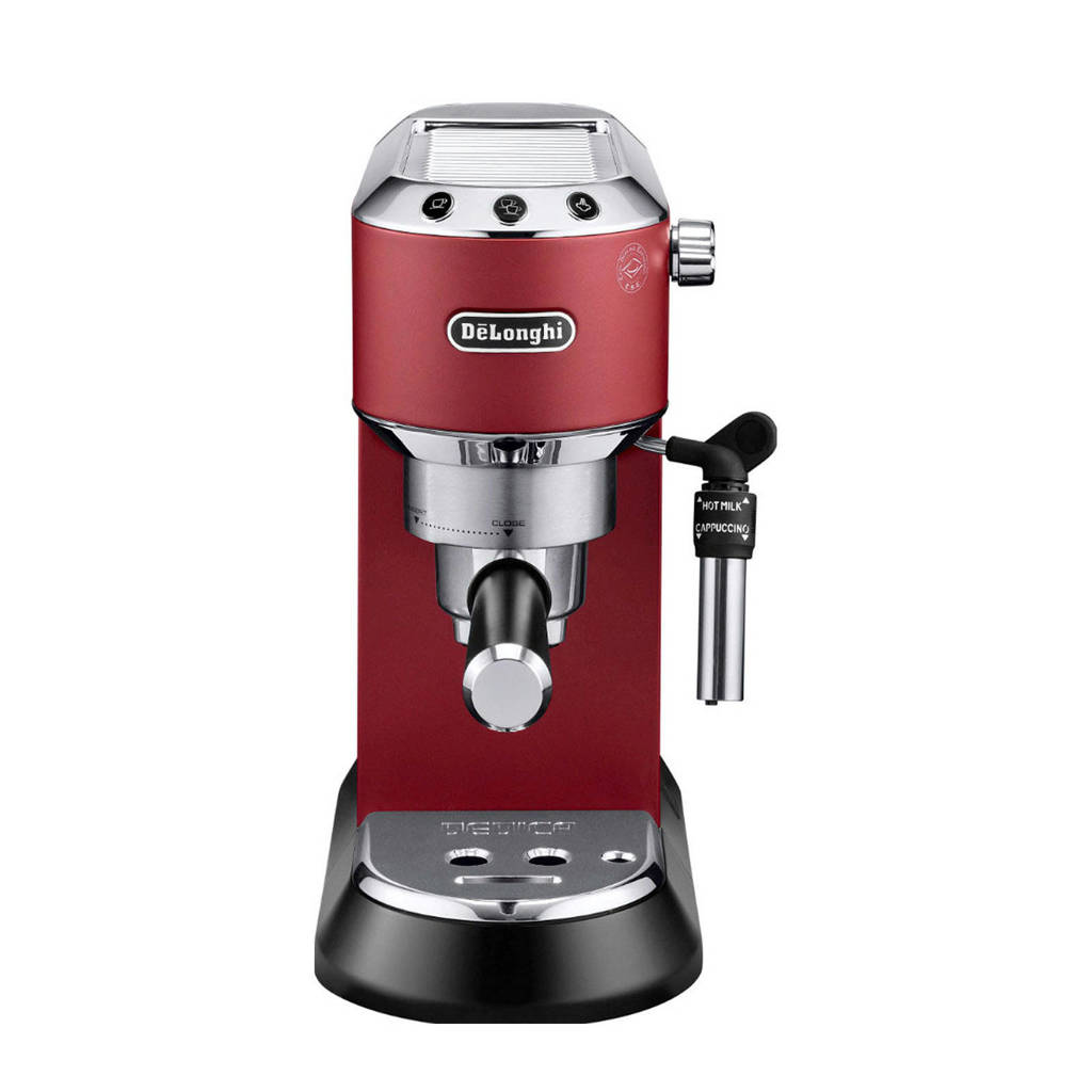 DeLonghi Dedica EC685.R espressomachine, Rood