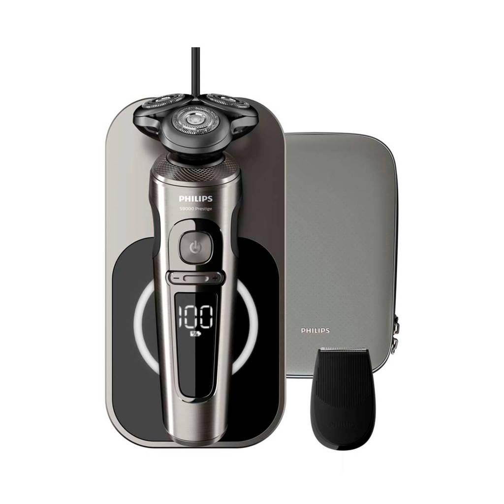 Philips SP9860/13 9000 serie nat en droog elektrisch scheerapparaat