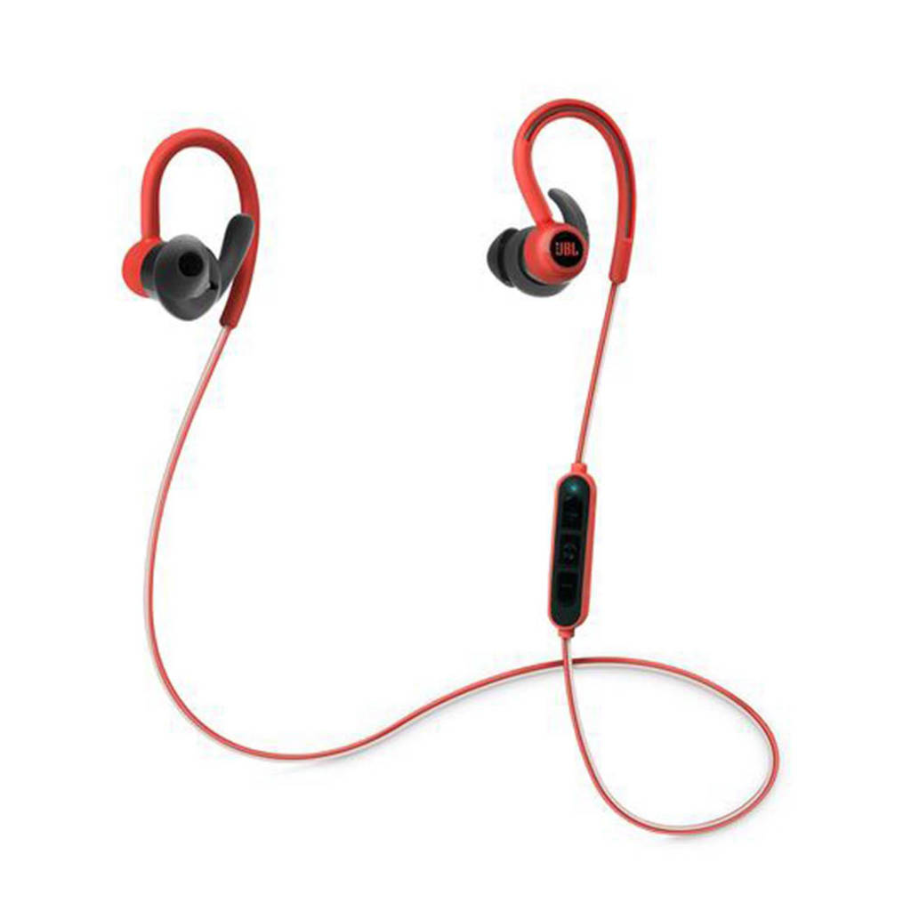 JBL Reflect Contour sport in-ear bluetooth koptelefoon rood, Rood