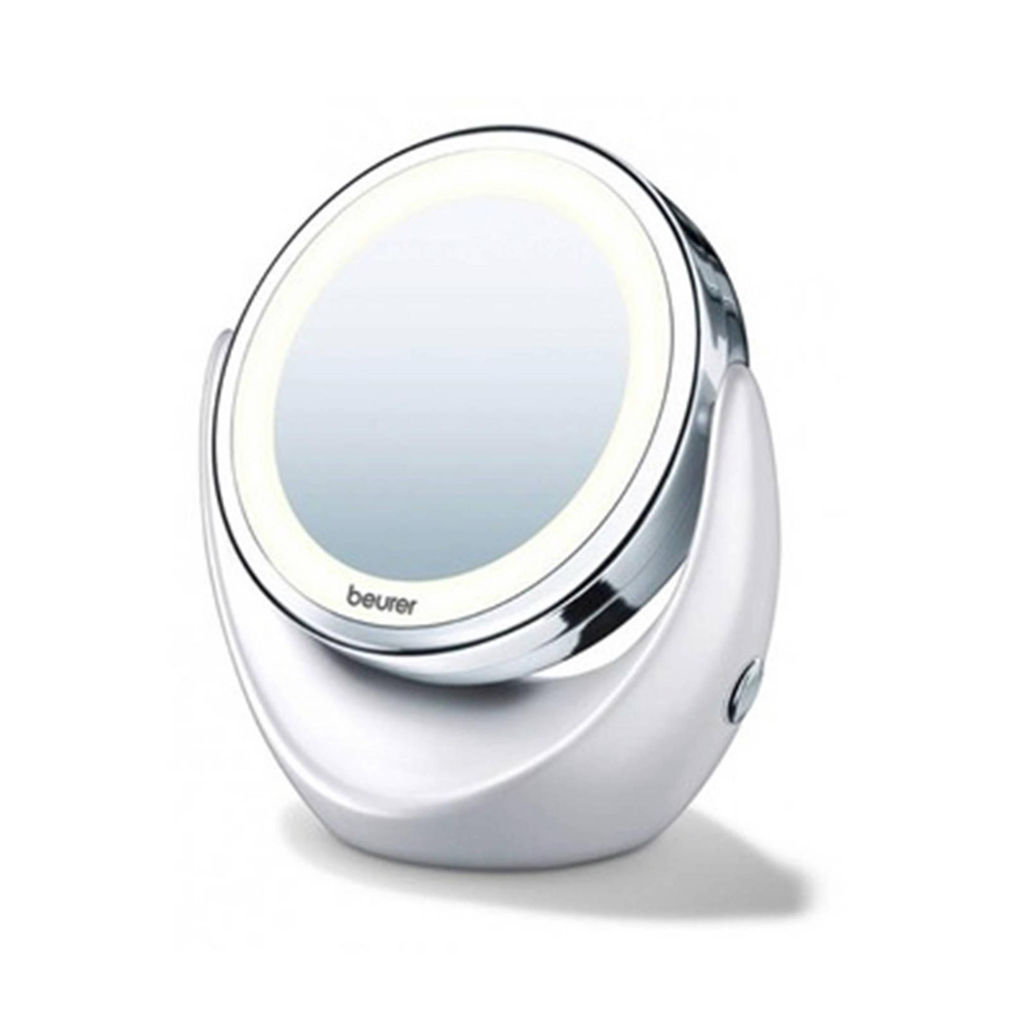 Cosmeticaspiegel Met Verlichting.Bs49 Cosmetica Spiegel Met Verlichting Wit