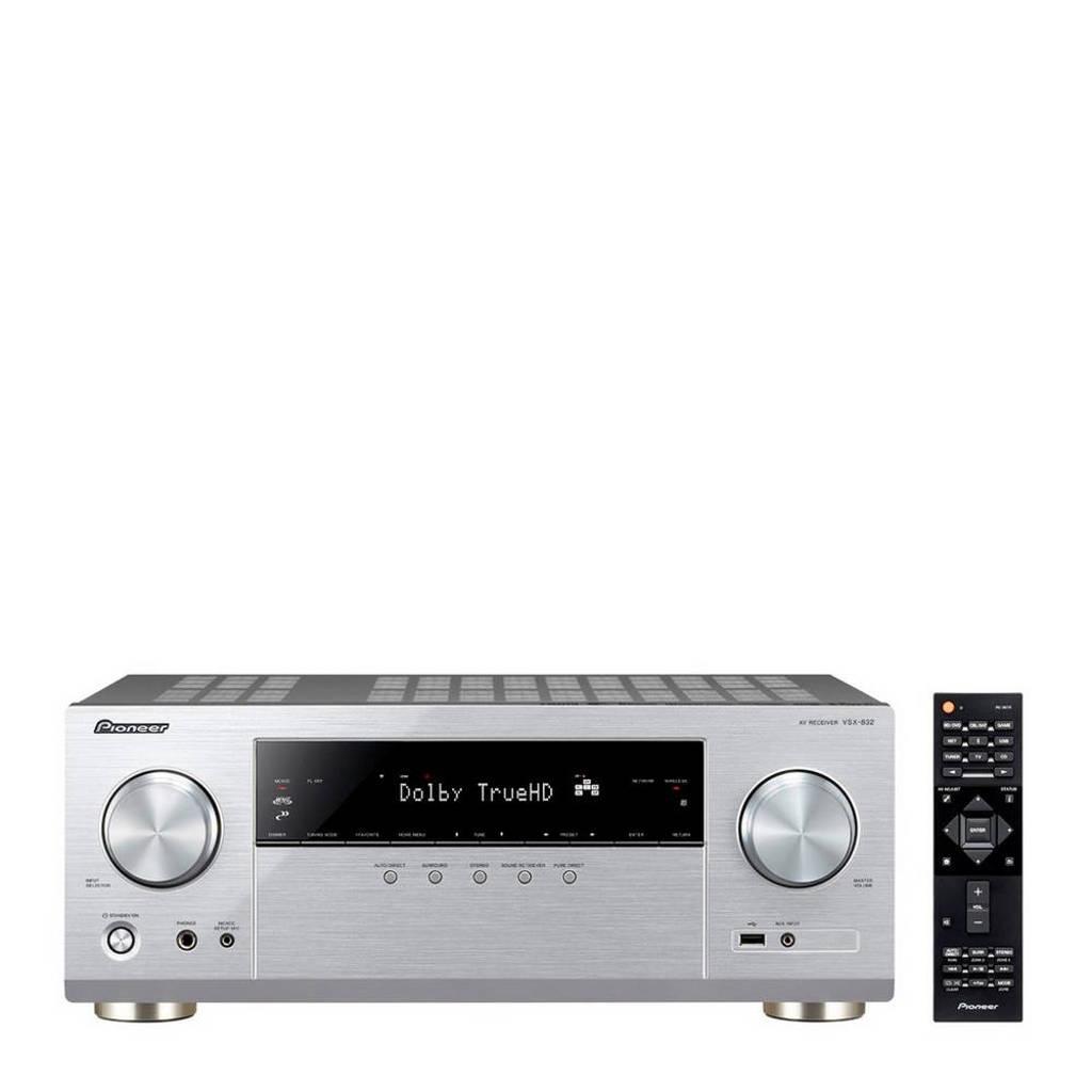 Pioneer VSX-832 receiver, Zilver