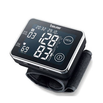 BC 58  Pols Touchscreen bloeddrukmeter - Zwart