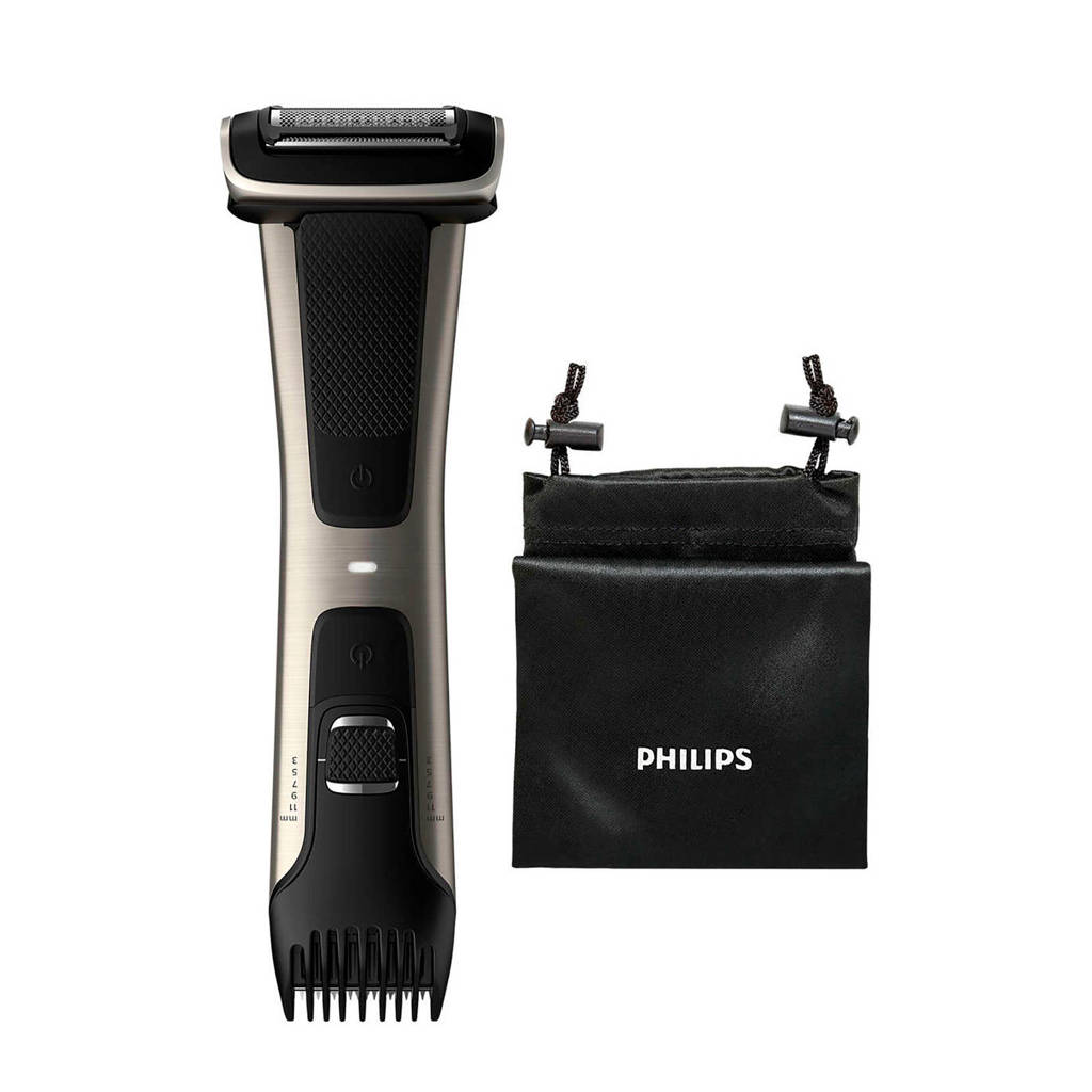 Philips BG7025/15 7000 series Douchebestendige bodygroomer, Zwart