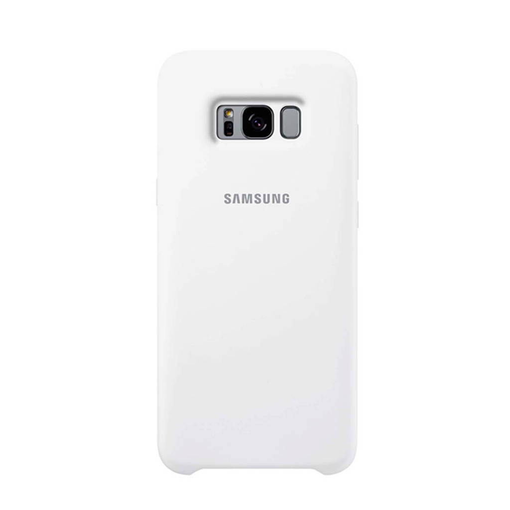 Samsung Galaxy S8+ Silicone backcover, Wit