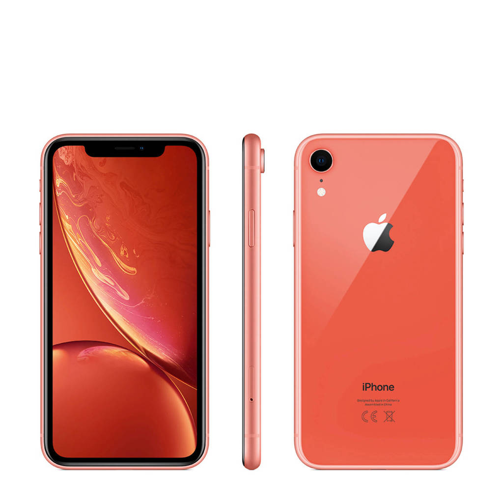 Apple iPhone Xr 128GB, Koraal