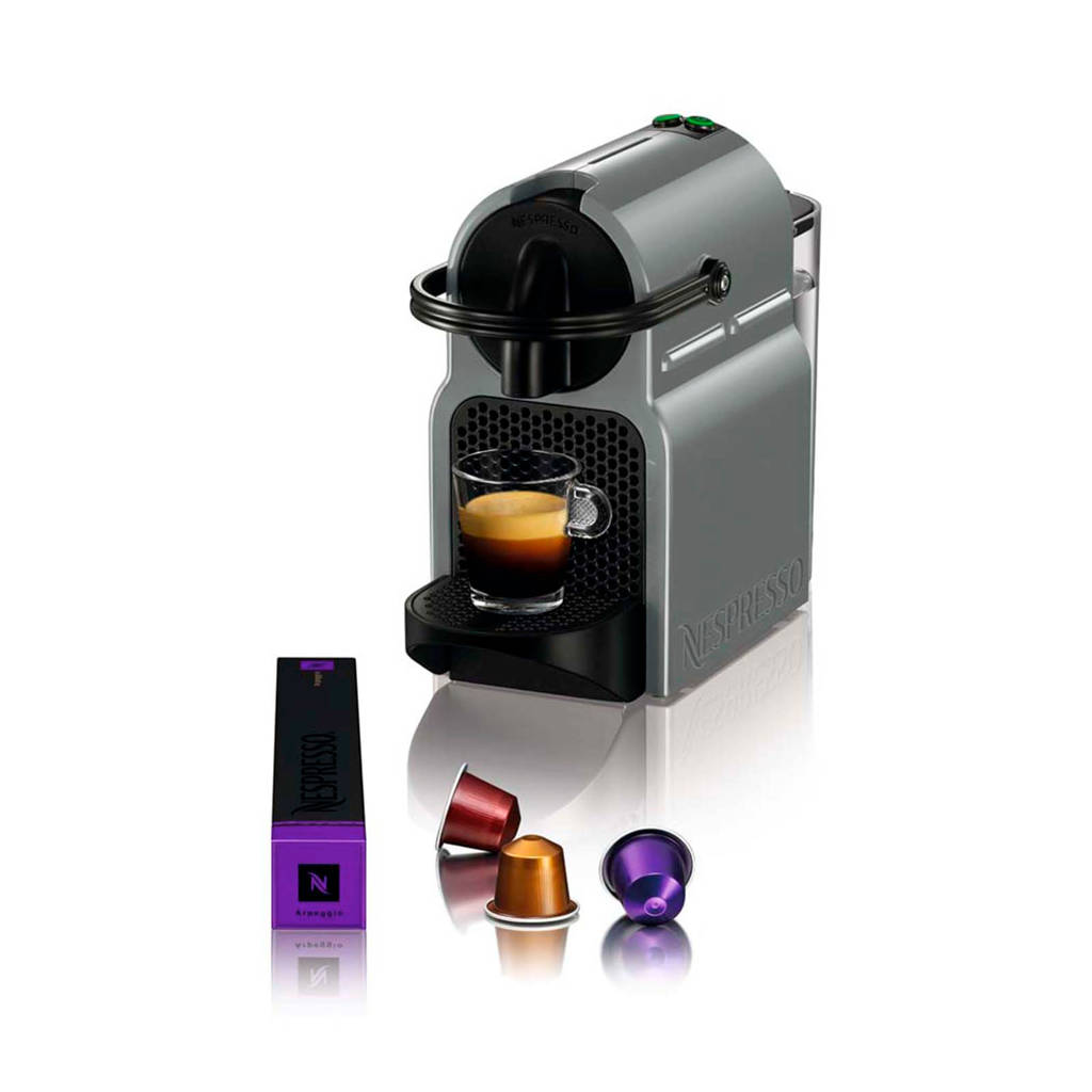 Magimix Inissia Grey M105 Nespresso machine, -