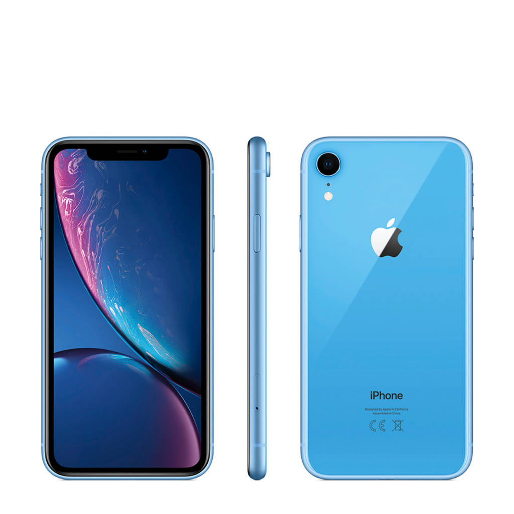 Apple iPhone Xr 256GB, Blauw