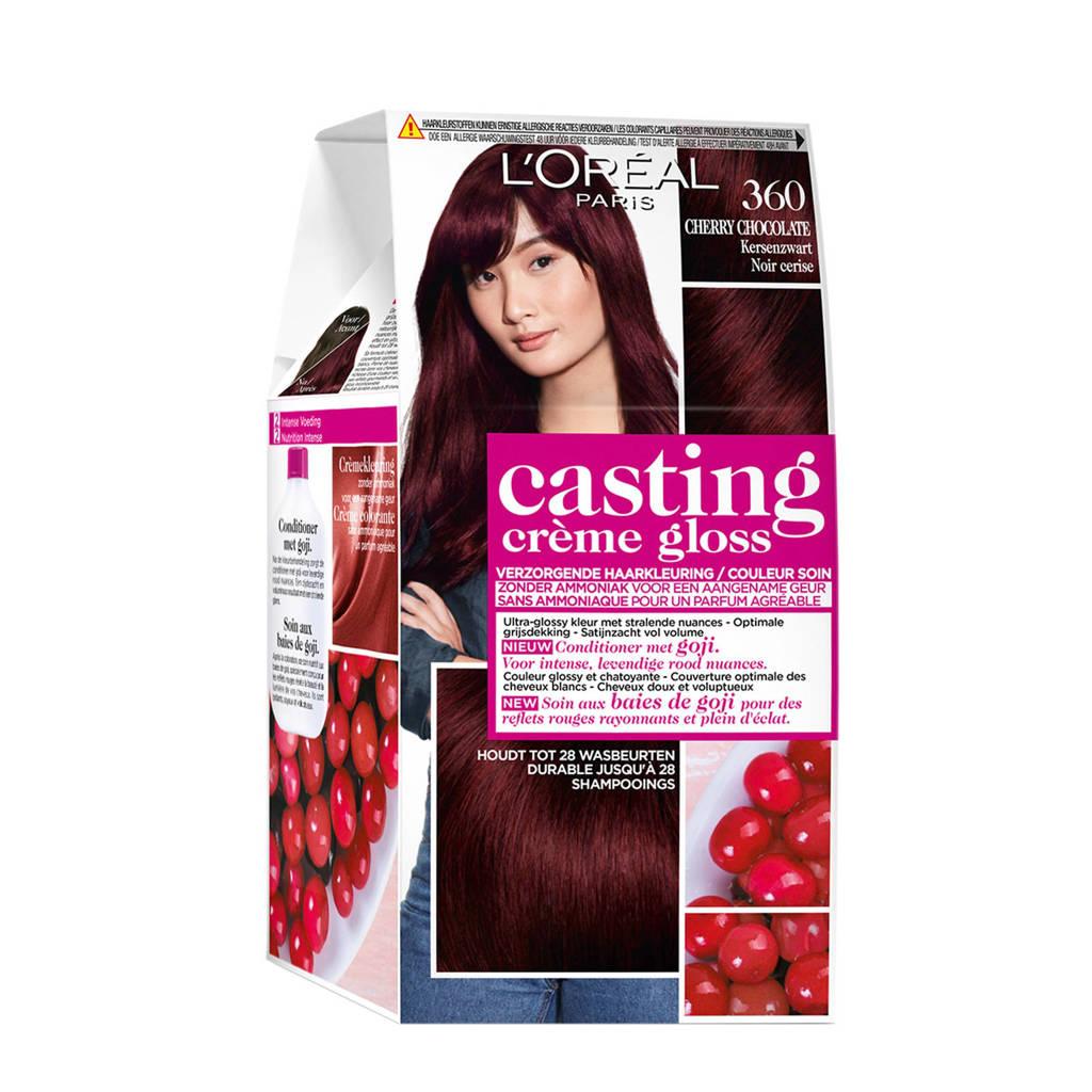 L'Oréal Paris Casting Crème Gloss haarkleuring - 360 Cherry Chocolate