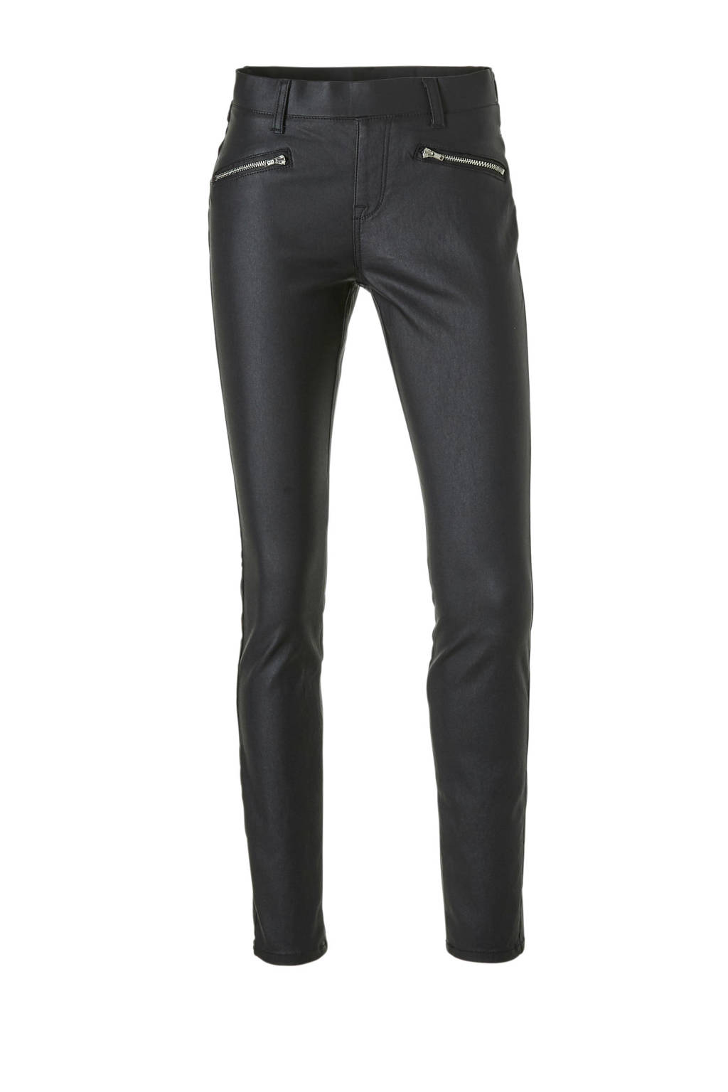 C&A Yessica gecoate slim fit jegging zwart, Black