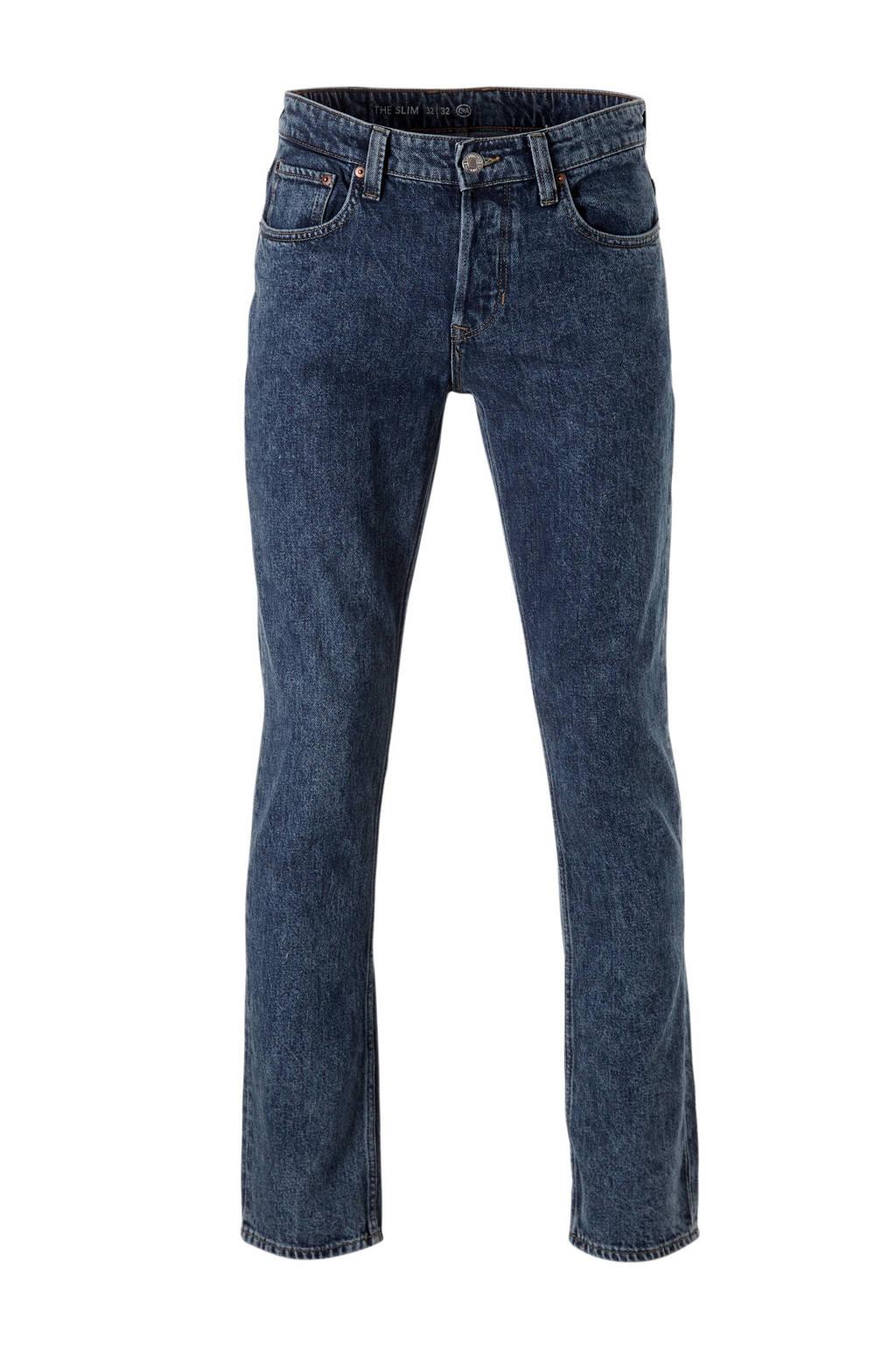 C&A The Denim slim fit jeans, Blauw