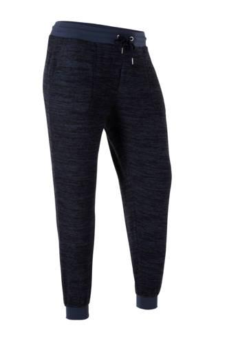 XL Clockhouse   gemêleerde joggingbroek blauw