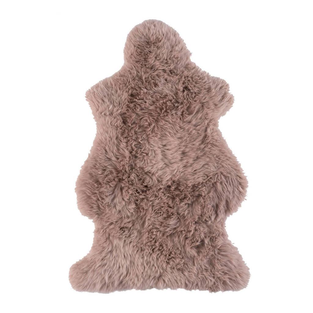 schapenvacht Shirley (94x50,5 cm)  (94x50,5 cm), Lichtroze