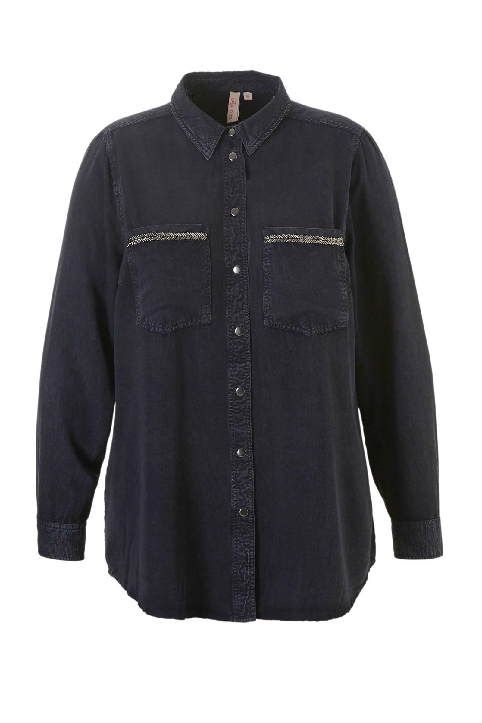 whkmp's great looks blouse met kraaltjes (dames)