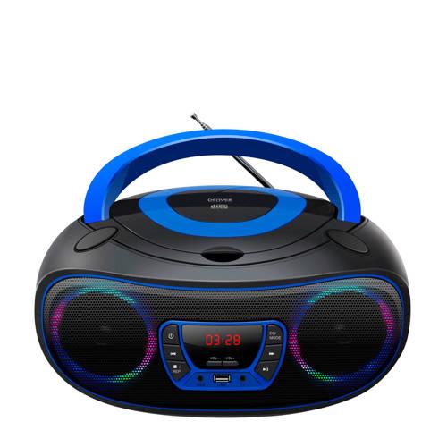 Boombox blauw