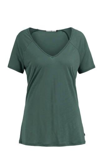 Ellen T-shirt donkergroen
