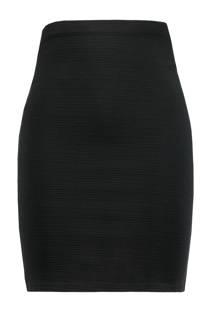 MS Mode kokerrok zwart (dames)