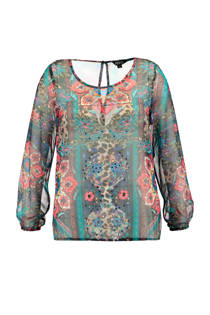 FSTVL by MS Mode top met allover print (dames)