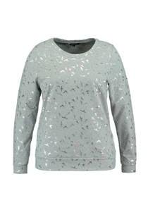 MS Mode sweater met vogelprint (dames)