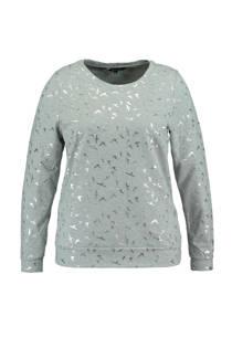 sweater met vogelprint (dames)