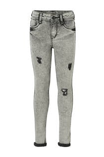 C&A Here & There high waist skinny jeans grijs (meisjes)