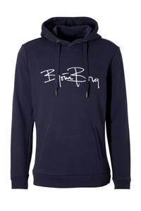 Björn Borg   hoodie blauw, Donkerblauw