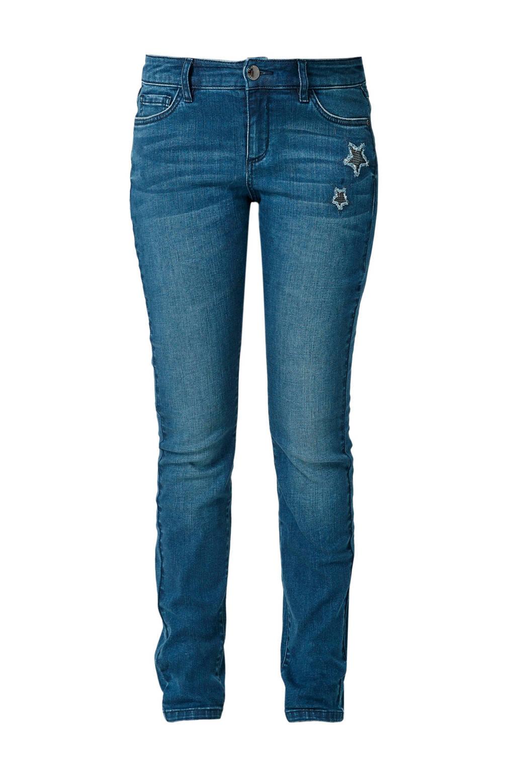 TRIANGLE curvy fit jeans, Blauw