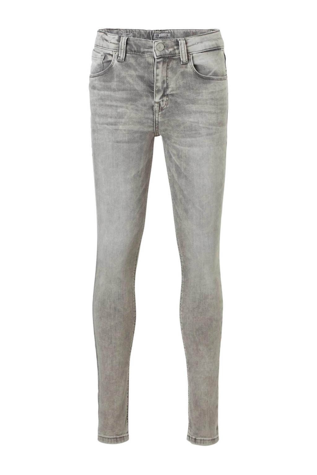 LTB skinny fit jeans Amy lichtgrijs, Lichtgrijs