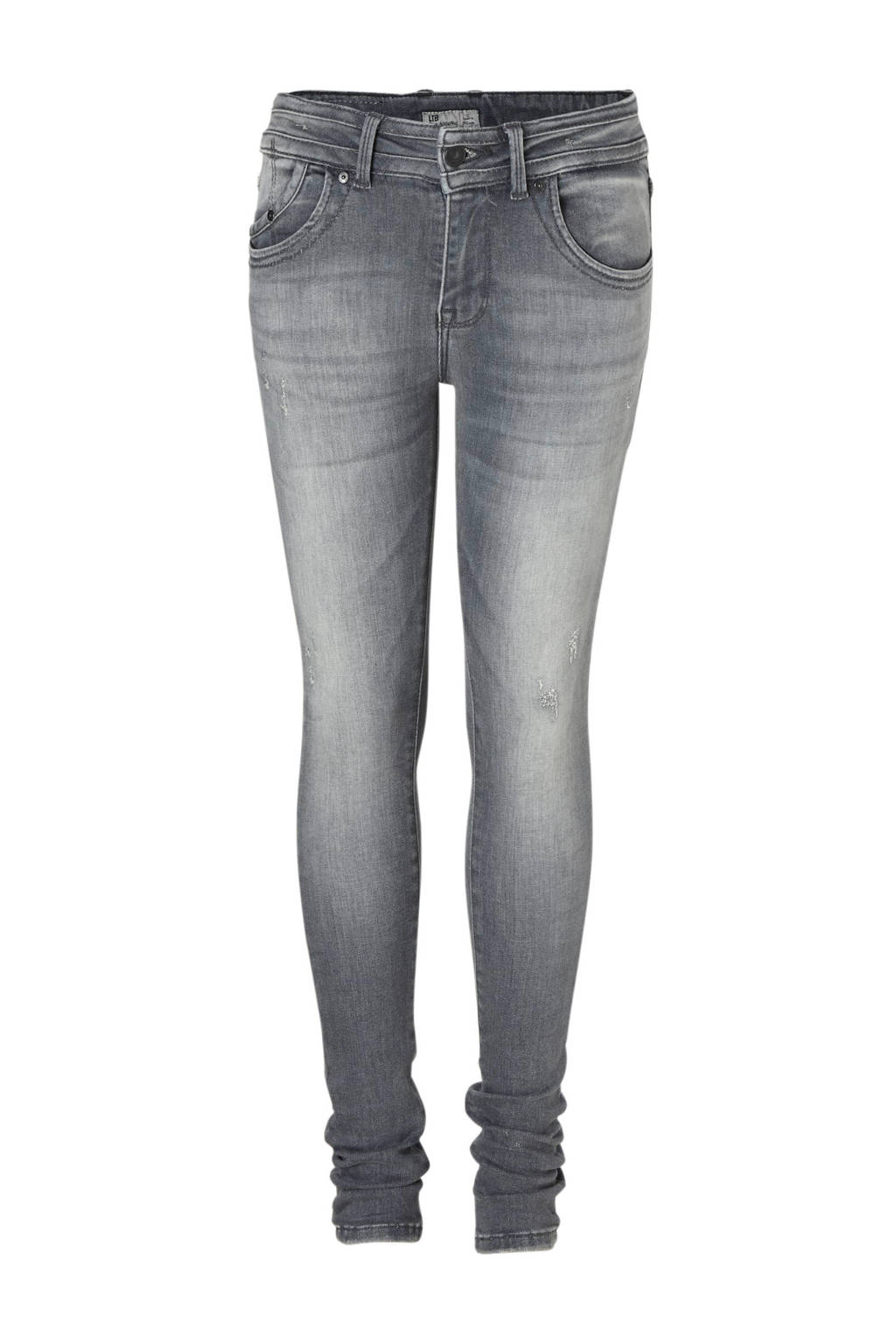 LTB super skinny fit jeans Julita grijs, Grijs (Elva wash)