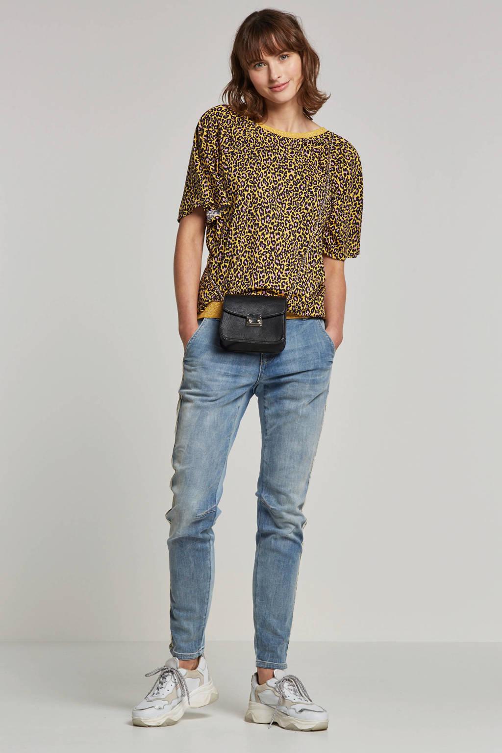 Summum Woman slim fit jeans lichtblauw, Lichtblauw