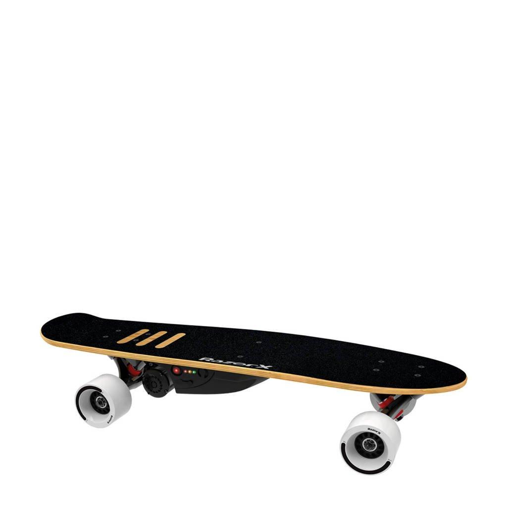 Razor X elektrische Cruiser skateboard, Zwart