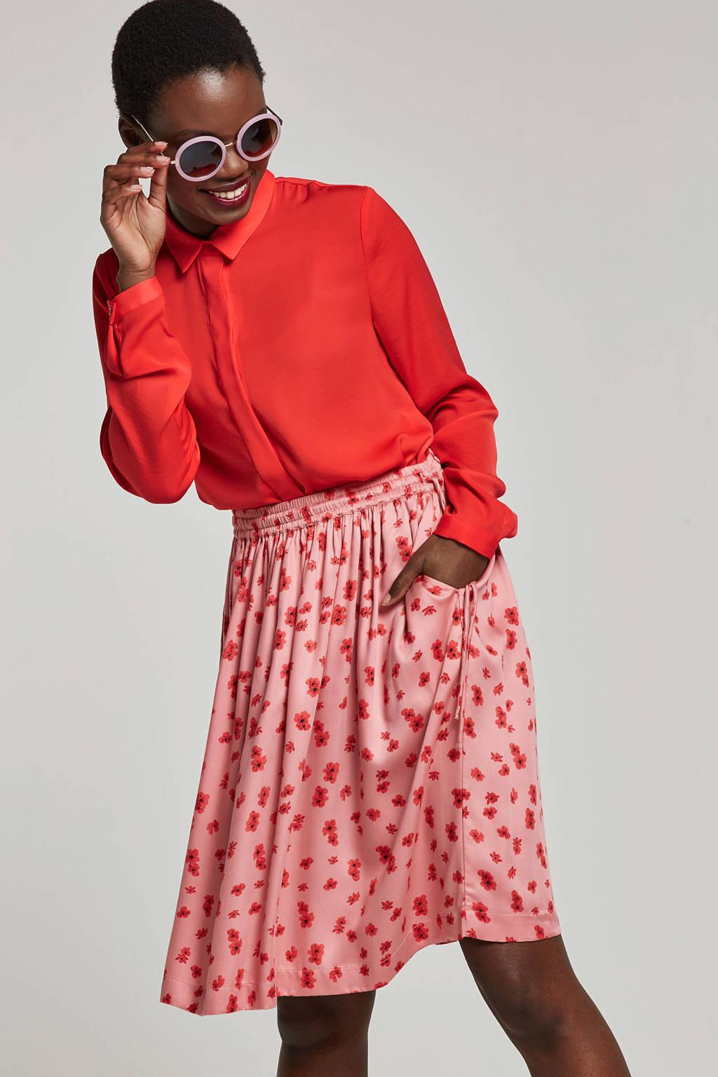 MSCH Copenhagen blouse rood, Rood