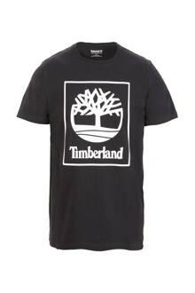 T-shirt met print zwart