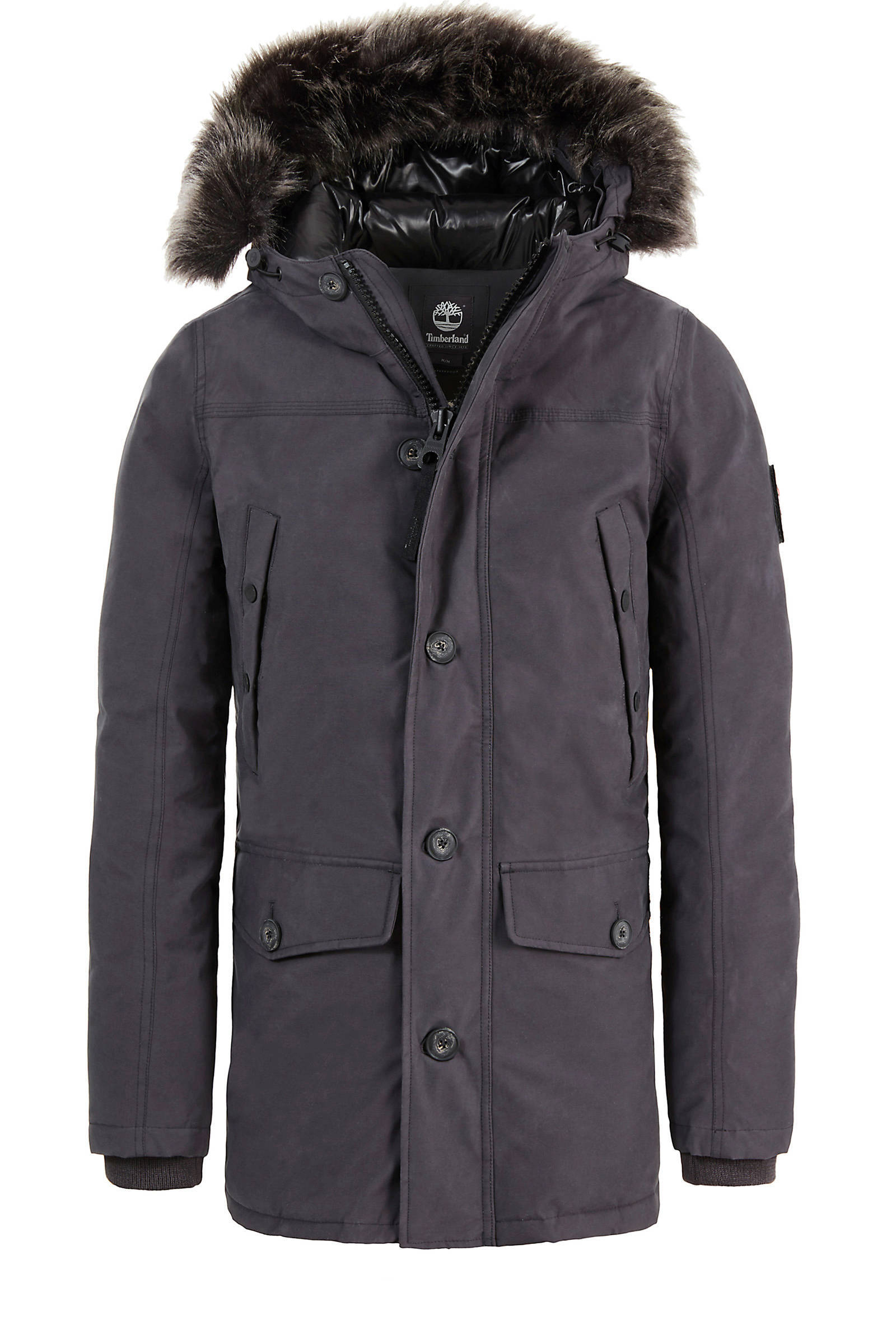 Uitgelezene Timberland winterjas met dons grijs | wehkamp NL-61