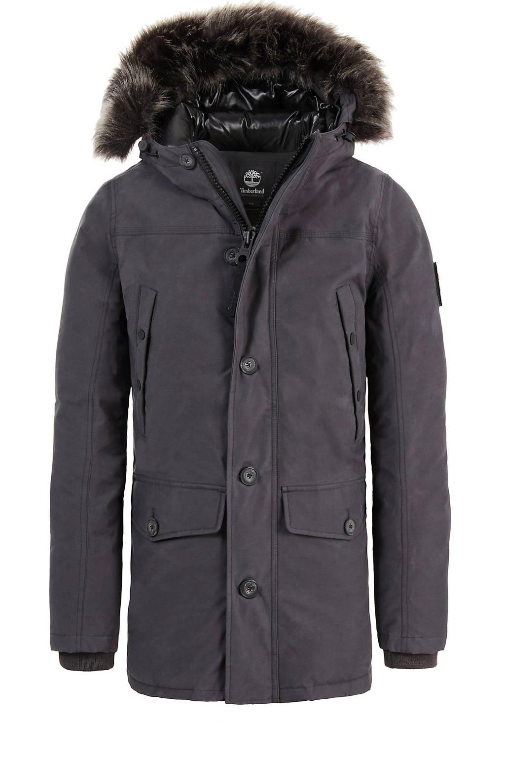 Timberland winterjas met dons grijs, Grijs