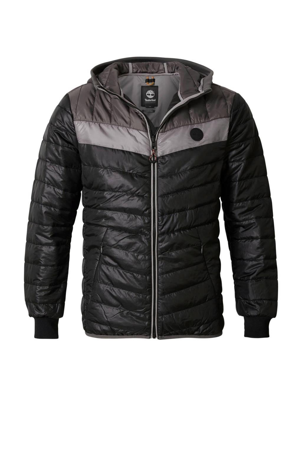Timberland tussenjas zwart, Zwart/grijs