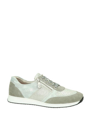 sneakers zilver/taupe