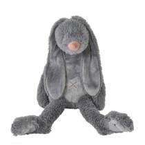 Happy Horse donkergrijze Rabbit Richie knuffel 58 cm