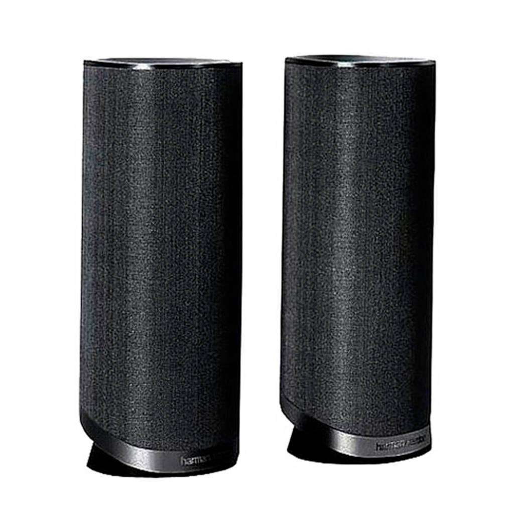 Harman Kardon HKS 4BQ/E surround speakers, Zwart